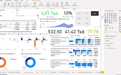 Kanzlei-Controlling mit Microsoft Power BI
